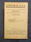 A Catalogue of Scarce and Valuable Books on America (Catalogue 656).