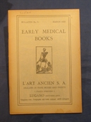 Bulletin No. 5: Early Medical Books.