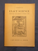Catalogue 22. Exact Science. From Hero Alexandrinus to Pierre Curie.